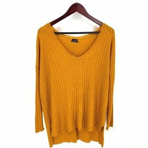 Urban Outfitters Out From Under Gold Oversized Top